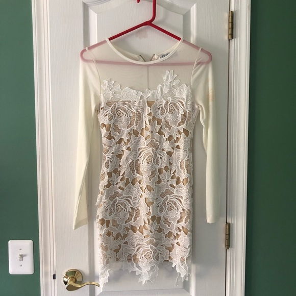 Nasty Gal Dresses & Skirts - Nasty Gal long sleeve lace dress